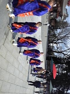 今は成田山でお参りp(^^)q