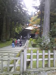慰安旅行で平泉(^0^)/